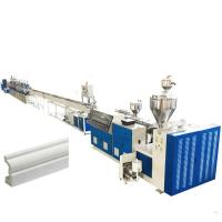 Buy cheap Plastic PS Pvc Profile Production Line Skirting Board High Performance Extrusion from wholesalers