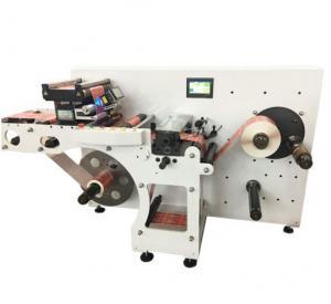 China Round Lotion Cream Bottle Sticker Labeling Machine Semi Automatic 200W on sale