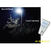 China IP65 Outdoor Luminaire LED Solar Street Lamp With 90Ah Lithium Battery on sale