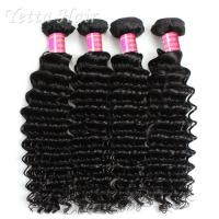 Wholesale Malaysian Deep Curly 6A  Virgin Hair Full Head With Soft and Luster from china suppliers