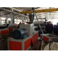 Wholesale Conical Twin Screw PVC Foam Board Extrusion Line for Cabinet Bathroom Waterproof Board from china suppliers