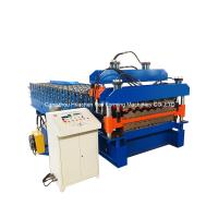 China 20m/min fast speed roof tile double layer roll forming machine 1200mm on sale
