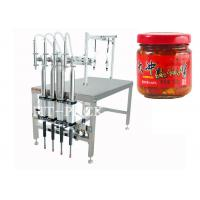 Buy cheap Pharmaceutical Glass Bottle Semi-Automatic Filling Machine With 14/16 Nozzle from Wholesalers