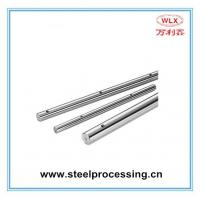 ISO 9001 certified high pressure hydraulic cylinder chromed plated piston