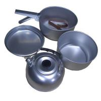 China Aluminum Camping cookware set on sale