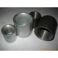 Buy cheap Seamless and seam black steel pipe sockets,couplings from Wholesalers