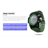 Buy cheap TPU LED Smart Watch IP68 Waterproof Color Display Screen Multiple Sports Mode from wholesalers