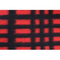 Buy cheap Modern Plaid Style Check Wool Fabric For Blanket 590G / M Weight from Wholesalers