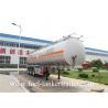 60m3 Fuel Tanker Trailer tri - axle tank semi trailer 60000 liter oil tank