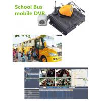 Buy cheap Hybrid Four - In - One 4CH Vehicle Mobile Vehicle DVR For School Bus , 1080P Resolution from wholesalers