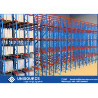 Wholesale High Density Cold Storage Racking System , Powder Coated Industrial Rack Shelving from china suppliers
