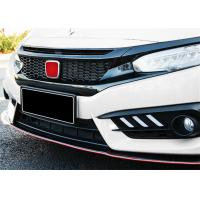 Wholesale Modified Black Automotive Spare Parts Honda New Civic 2016 2018 Auto Front Grille from china suppliers