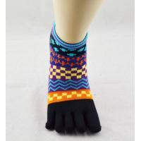 Buy cheap Winter Spandex / Cotton Five Toe Socks , Pretty Toe Socks For Women from wholesalers