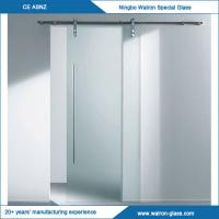 Buy cheap 2050X900X8mm Glass Sliding Door System with Different Sizes from wholesalers