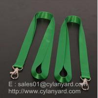 Wholesale Nylon badge holder lanyards factory China, wholesale print nylon id badge ribbons from china suppliers