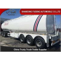 Wholesale 50000 Liters 5 Compartments Aluminum Fuel Tanker Trailer from china suppliers