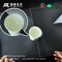 Wholesale Anti Fog Scratch Resistant Acrylic Sheet , Acrylic Polycarbonate Sheets from china suppliers