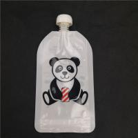 China Heat Seal Baby Food Spout Pouch Packaging Beverage Bag 10 Colors Customized Size on sale