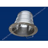 Wholesale SS Rotary Drum Screen Filter Wedge Wire Basket Different Vee Wire Baskets from china suppliers