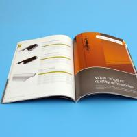Quality Offset Printing Brochure Printing Services , Soft Cover Digital Printing Services for sale