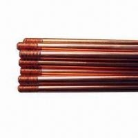 China 1/2 5/8 3/4'' Copper Bonded Grounding Rod, High Tensile on sale