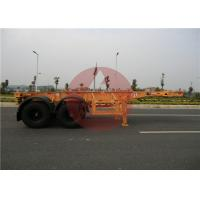 Quality 2 Axle 40ft Shipping Container Trailer Light Weight For Transport Logistics for sale