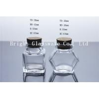 Wholesale nice small glass jar with cork for wholesale from china suppliers