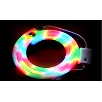 Wholesale Waterproof IP 65 Color Changing RGB Led Neon Rope With 110V 218W / Roll And 25 X 27MM Size from china suppliers