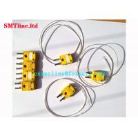 China Yellow Color SMT Reflow Oven Thermocouple K Type Couples With 0.5m Cable on sale