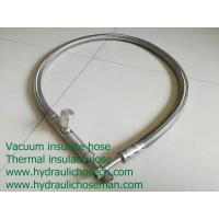 China Liquid nitrogen hose/ Vacuum hose / Vacuum pipe/ Stainless steel vacuum insulate hose / LNG Cryogenic hose on sale