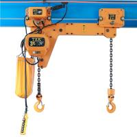 Wholesale Twin Hook TXK Electric Chain Hoist 2 Ton With Electric Trolley For Factory from china suppliers