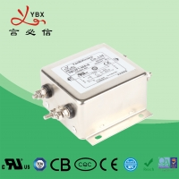 Wholesale UL 94V-0 2000VAC 2250VDC 90dB AC 3 Phase EMI Filter from china suppliers