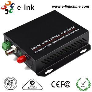 Wholesale 1-ch video, 20km, Single Mode Fiber CCTV Fiber Optic Converter from china suppliers