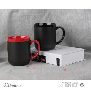Wholesale Ceramic Chalk Coffee Mug , Promotional Corporate Logo Coffee Mugs 15 OZ from china suppliers