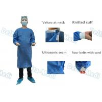Wholesale SMMS Disposable Surgical Gown , Fluid Blood Impermeable With Hand Towels For Surgery from china suppliers