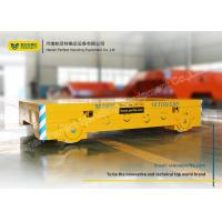 Wholesale Metallurgy Industry Battery Operated Platform Trolley Buffer With Alarm Light from china suppliers