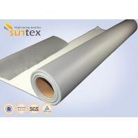 SUNTEX One Side Silicone Coated Fiberglass Cloth Steam Pipe Insulation Material