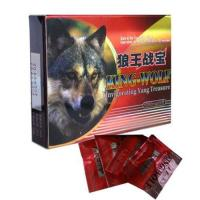Wholesale Herbal Strongest King Wolf Male Enhancement Supplements 3000mg GMP from china suppliers