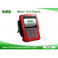 Wholesale Error Calibration Portable Energy Meter , Electric Meter Testing Equipment 1000 Pieces Data Storage from china suppliers