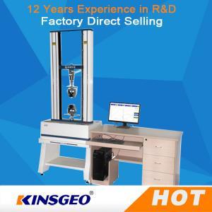 China Servo Motor 100KN Rubber Tensile Testing Machine For Testing Peel / Bend Strength on sale