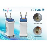 Buy cheap two handle equipped micro needle and thermage combined super skin tighten 80 watt rf power thermage machine manufacturer from Wholesalers