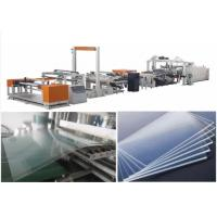Wholesale PMMA Polycarbonate Sheet Extrusion Line Sheet Extrusion Equipment Extruder Machine from china suppliers