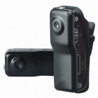 Wholesale Clip-on Mini DV, Flexible Installation with Clip/Bracket, High Resolution, PC/Sport Camera from china suppliers