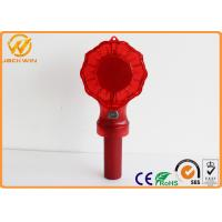 Water Proof Traffic Warning Lights Battery Barricade Lamp With 10 pcs Brightness LED
