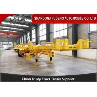 Wholesale FUDENG Bomb Cart Port Terminal Container Trailer , 45ft terminal chassis trailer from china suppliers