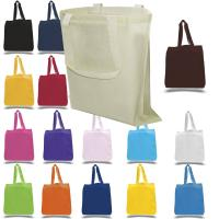Wholesale reusable grocery bags cotton canvas tote eco friendly custom printed cotton tote bags for promotion from china suppliers
