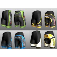 Wholesale Sublimated short running trousers Cycling Wear Professional Bicycle Clothing from china suppliers