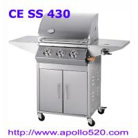 Wholesale High Quality BBQ Grill 3burners  with cabinet from china suppliers