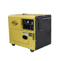 Fuel Efficient Lightweight Compact Diesel Generator , Enclosed Diesel Generator