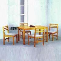 Wholesale Dining Set, Made of MDF and Veneer from china suppliers